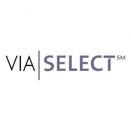 Via select