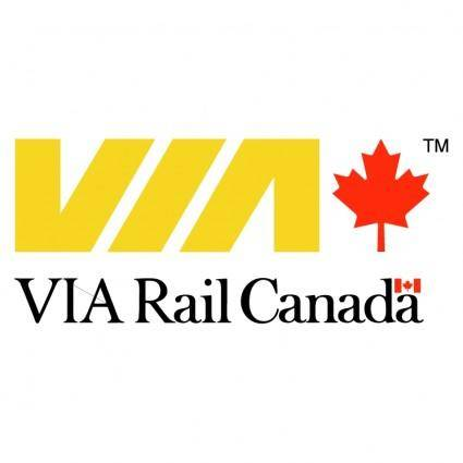 free vector Via rail canada