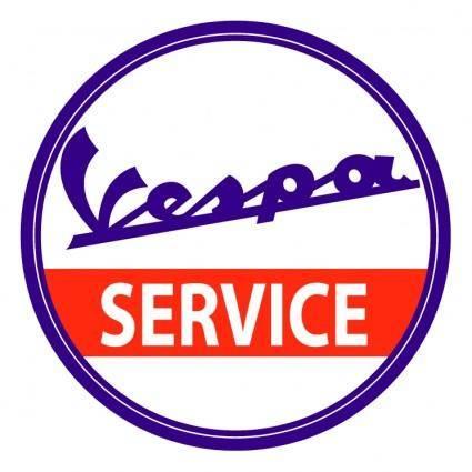 free vector Vespa service