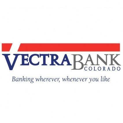 free vector Vectra bank colorado