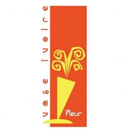 Vase ivoire