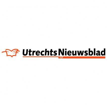 free vector Utrechts nieuwsblad