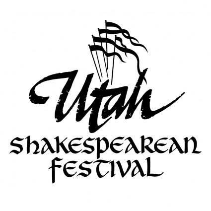 free vector Utah shakespearean festival