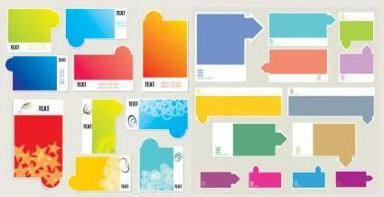 free vector Color graphics vector fashion