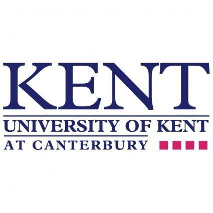 free vector University of kent 1