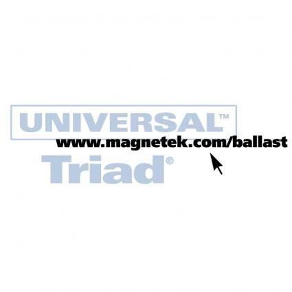 Universal triad