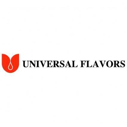 free vector Universal flavors