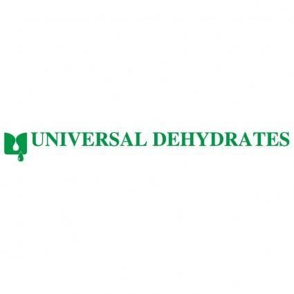 free vector Universal dehydrates