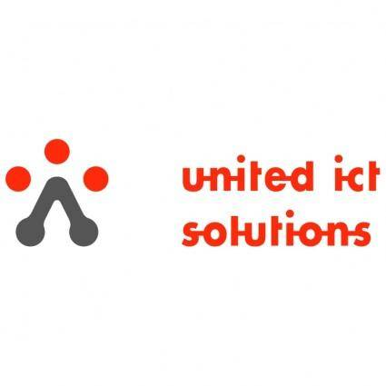 free vector United ict solutions