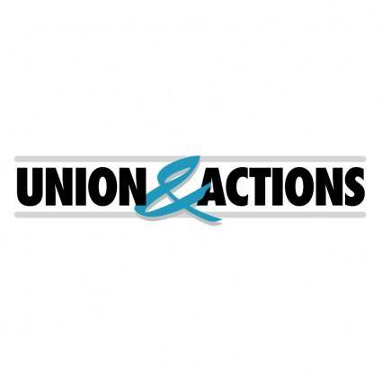 free vector Union action