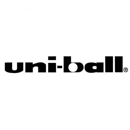 free vector Uni ball