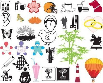free vector Free Design Elements Vector Pack