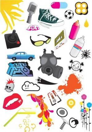 free vector Free Design Element Vector Pack 2