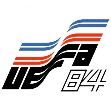 free vector Uefa euro 84 france