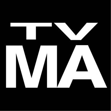 free vector Tv ratings tv ma