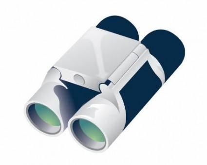 free vector Free Binoculars Vector
