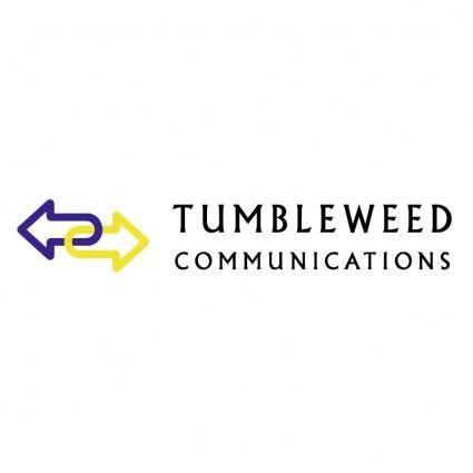 free vector Tumbleweed communications