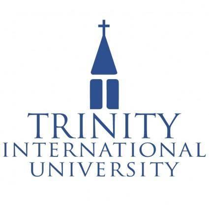 free vector Trinity international university 0