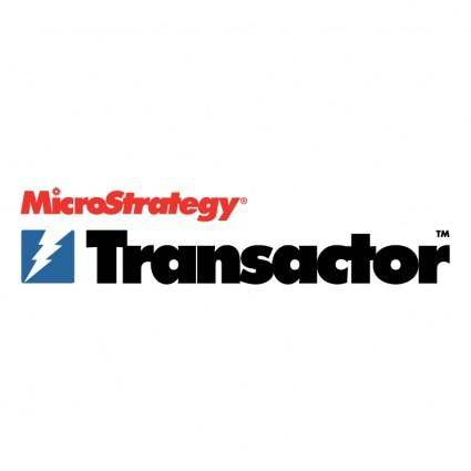 free vector Transactor