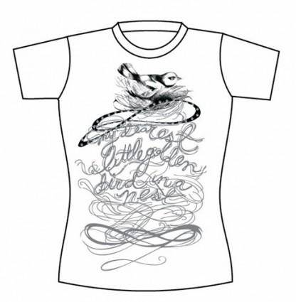 Free Vector T-shirt Template 05