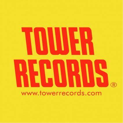 free vector Tower records 0