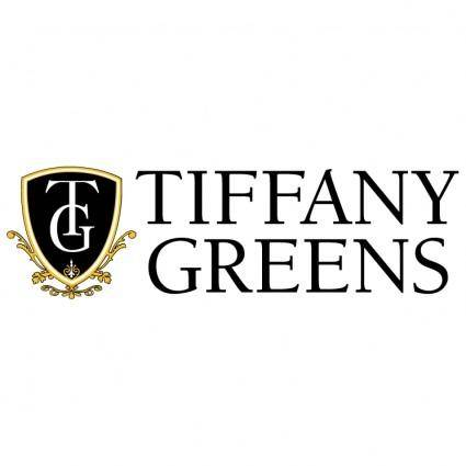 Tiffany greens