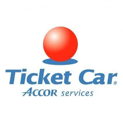 free vector Ticket car
