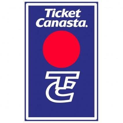free vector Ticket canasta