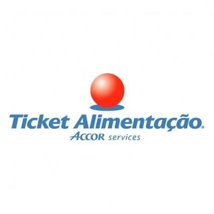 free vector Ticket alimentacao