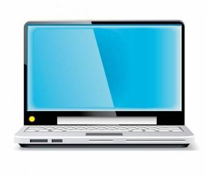 free vector Laptop Vector Blue Screen