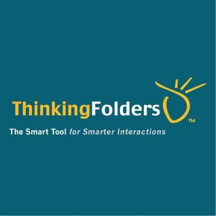 free vector Thinkingfolders