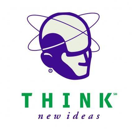 free vector Think