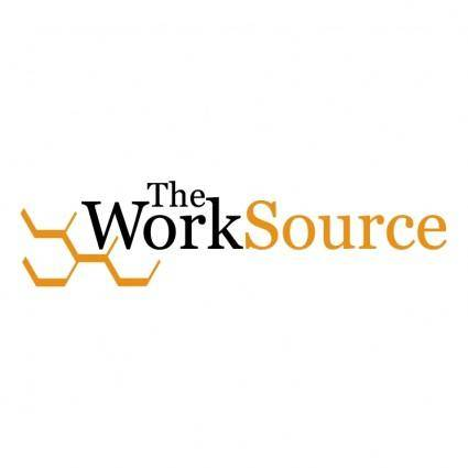 free vector The worksource