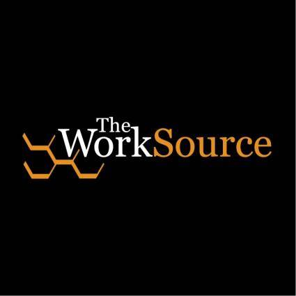 free vector The worksource 0