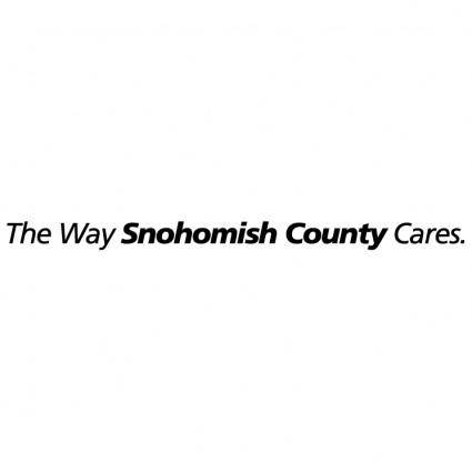 free vector The way snohomish county cares