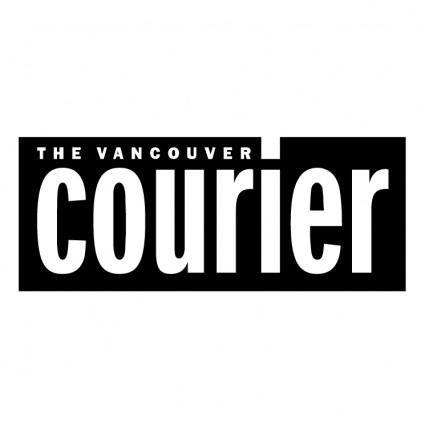 free vector The vancouver courier