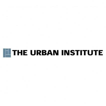 free vector The urban institute
