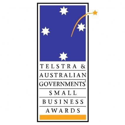 free vector The telstra australian governments small business awards