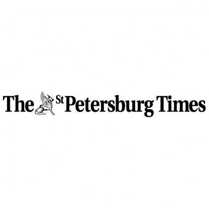 free vector The st petersburg times