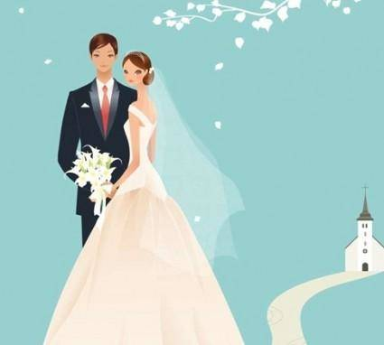 free vector Wedding Vector Graphic 39