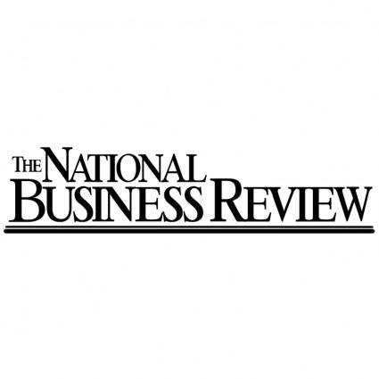 free vector The national business review