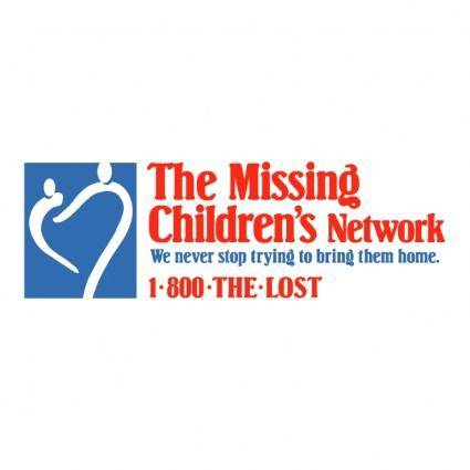 free vector The missing childrens network