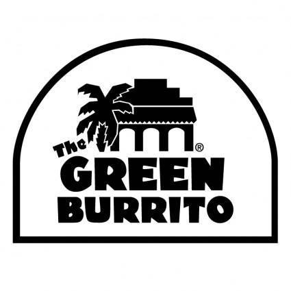 free vector The green burrito