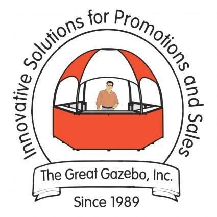 free vector The great gazebo