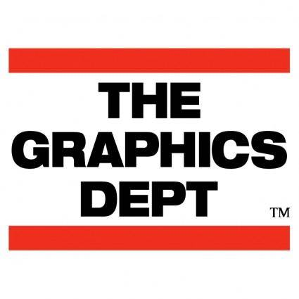 The graphics dept