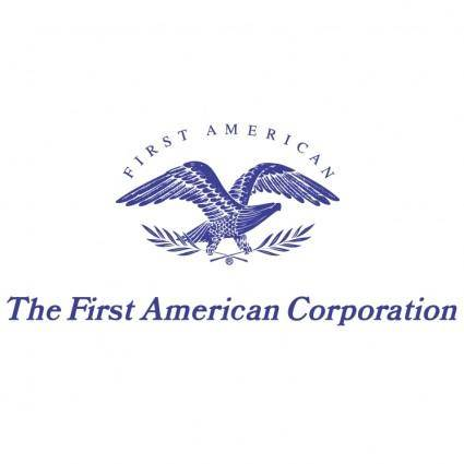 free vector The first american corporation