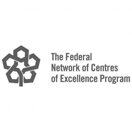 free vector The federal network of centres of excellence program