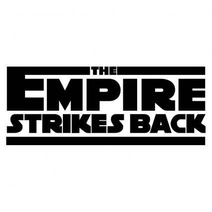 free vector The empire strikes back