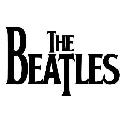 free vector The beatles 0