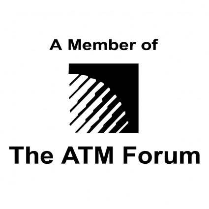 free vector The atm forum